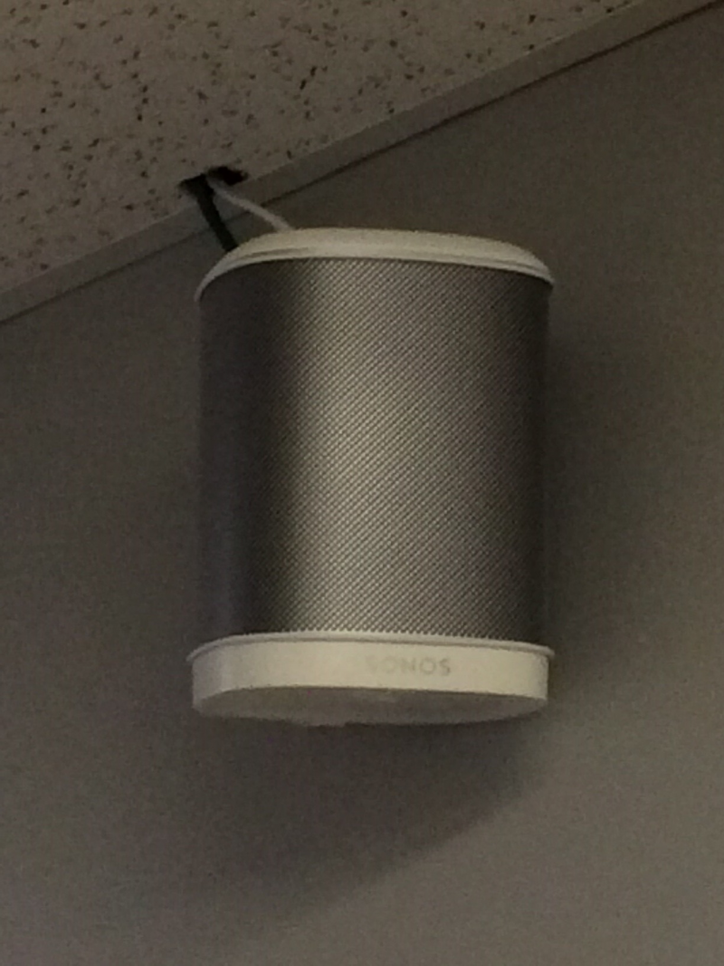 Provided and installed lobby speakers for the Springfield Dream Center